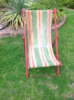 Stunning old deck chair  Eden Hill Bassendean Area Preview