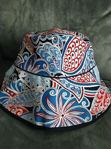 VERA-BRADLEY-SEASIDE-CRUSHER-HAT-LTD-ED-SUMMER