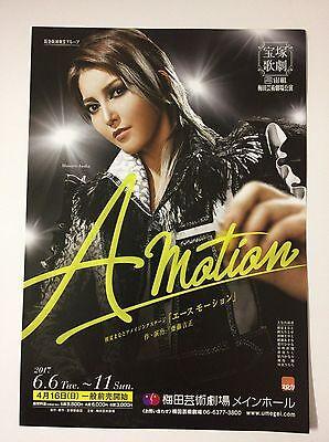 A motion by Manato Asaka  Osaka Takarazuka  From Japanese Musical Handbill