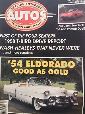 Special Interest Autos Magazine 1958 T-Bird Drive February 1996 042118nonrh