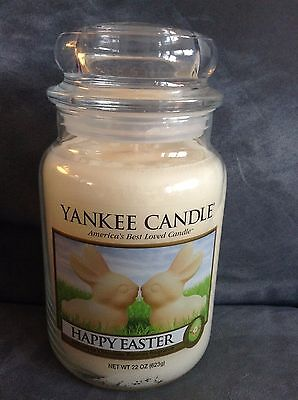 Yankee Candle Happy Easter 22 Oz   Rare   Limited Edition   Brand New