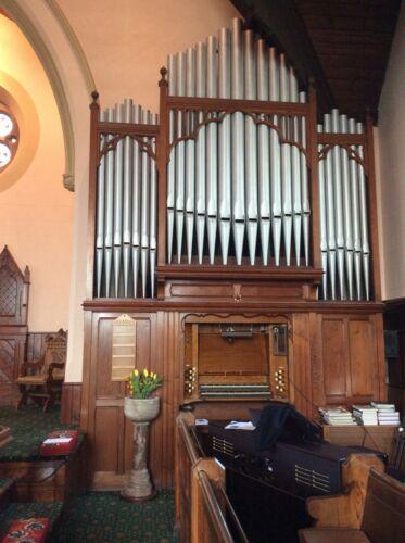 J.J. Binns pipe organ in good order