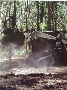 Reeper mulching Forresters Beach Gosford Area Preview