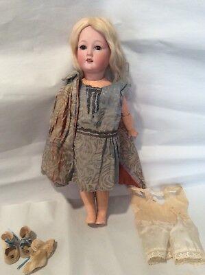 "14"" Antique Bisque Doll...German Revalo"