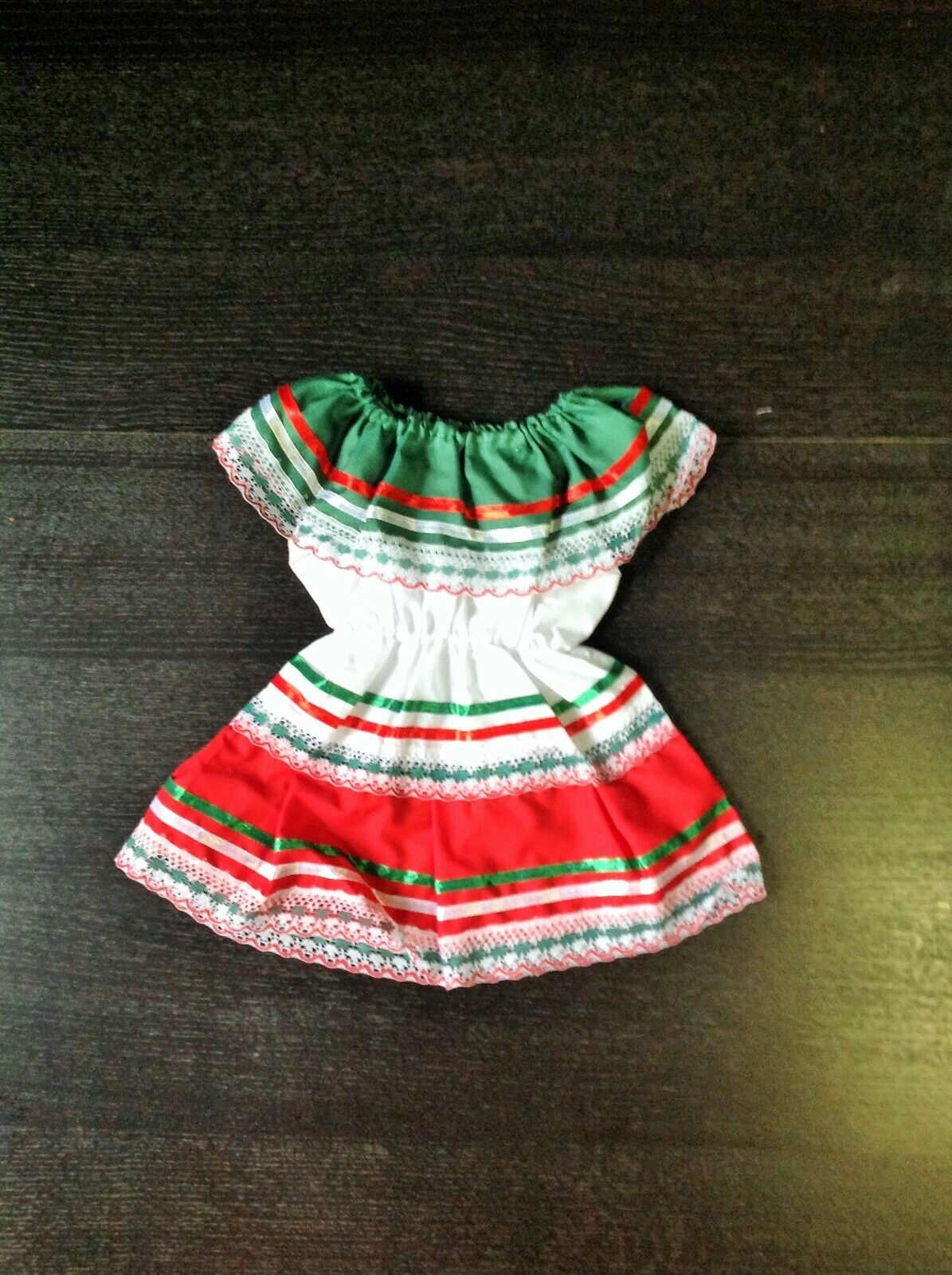 mexican baby dress traditional dress size 6mos