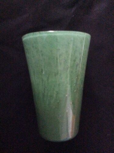 VERY RARE Whitefriars (Powell) Cloudy Tapered vase - rings like a bell