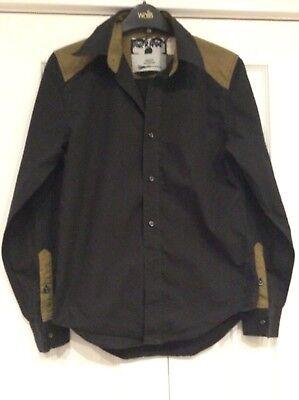 mens/ladies Horace Concrete Fascination black shirt size10
