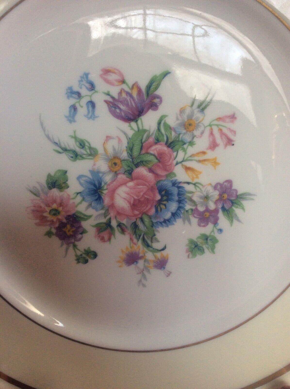 Beautiful Vintage Ahrenfeldt Limoge Decorative Plate - $22.99