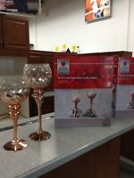 Candle holders set of 2 St. Catharines Ontario Preview
