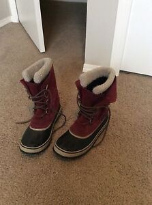 Women's Sorel Winter Boots Size 10