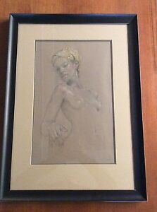 Nude of a lady....art  23x32
