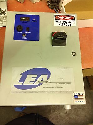 Lea International Model Triton 300 480Y Ds Surge Protection Device