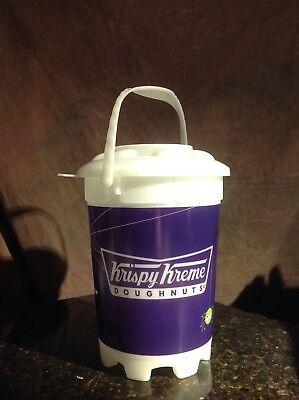 Krispy Kreme Doughnut Halloween Bucket Pail with Lid