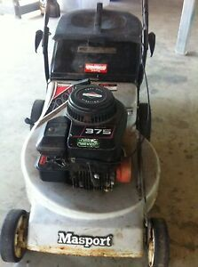 Masport lawn mower Booval Ipswich City Preview