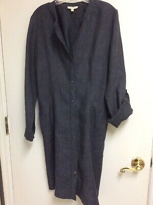 EILEEN FISHER Dress Perfect Condition Linen M