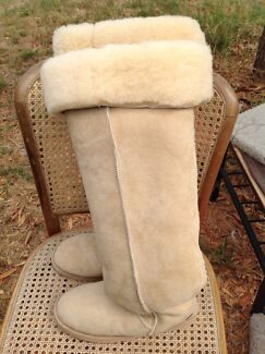 Very long Woolmark Ugg Boots Ormond Glen Eira Area Preview