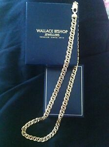 9ct gold curb link necklace. Kilkivan Gympie Area Preview