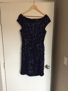 Women's Ralph Lauren Evening Dress Blue Size 12