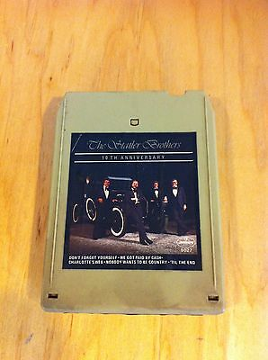 Statler Brothers 10th Anniversary Album 8 Track Tape
