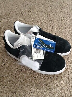 Black Lace Up Stitch (NWT Size 5.5  Adidas Gazelle Stitch And Turn Men's Black Lace Up Sneakers Shoes )