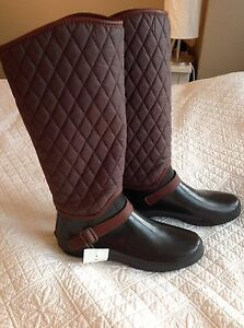 New Women's Rubber Boots - Spring & Fall - Size 11