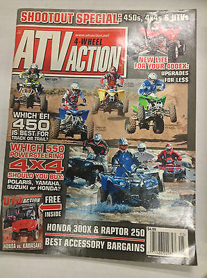 ATV Action Magazine Which EFI 450 Best For Track Or Trail May 2009