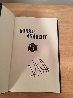 Signed   Kurt Sutter Sons Of Anarchy   Bratva Samcro Soa Fx Otto   Pic Hc