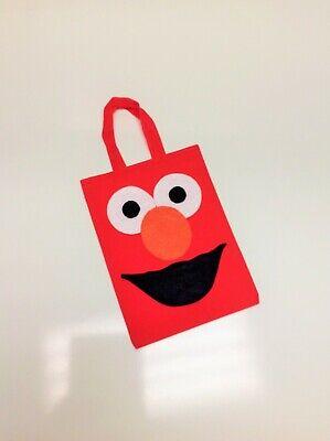 10 Pcs Elmo Party Bag Treat Bags Goodie Bags Sesame Street Candy Bags Elmo Party - Elmo Party Bags