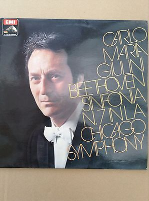 BEETHOVEN: 7th SYMPHONY Carlo Maria Giulini / Chicago S.O  1979 EMI/Italy LP segunda mano  Embacar hacia Spain