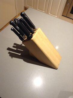 Mundial Bonza 9 Piece Knife Set Baldivis Rockingham Area Preview
