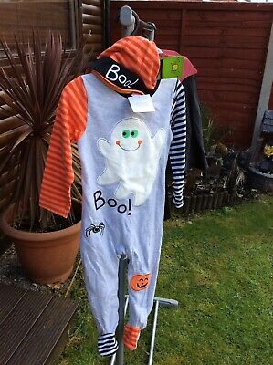 Sainsbury's Baby Clothes Halloween (BNWT SAINSBURY'S TU CLOTHING BABY GHOST FANCY DRESS HALLOWEEN)