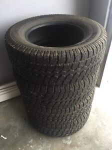 4 LT275/65R18 Winter Tires
