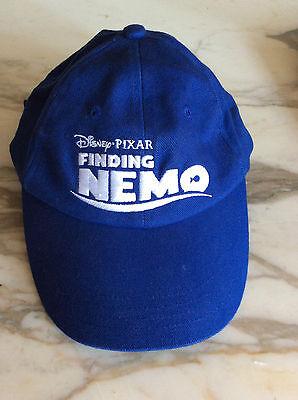 Disney Pixar Finding Nemo Baseball Hat Blue and White One-size Buckle Adjustment