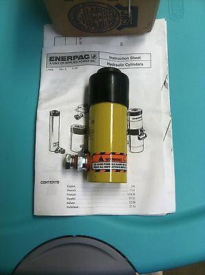 Enerpac Rw51 Universal Hydraulic Cylinder New In Box 5 Ton 1 Stroke