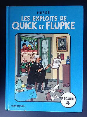 Les exploits de Quick et Flupke Recueil 4 1976 BE + à TBE