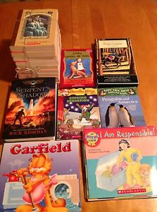 Over 200 new and like new kids books for all ages