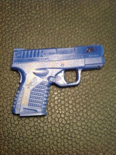 Rings Blue Gun Springfield XDs Holster Mold