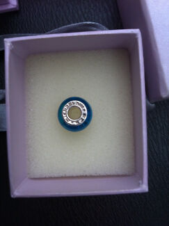 Michael Hill glass pandora charm brilliant blue New Churchlands Stirling Area Preview