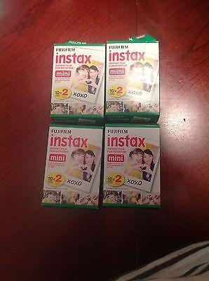 NEW Fujifilm Instax Mini Instant Film 80 sheets pic For Fuji Mini 8 90 70 Camera