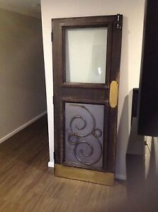Vintage Solid Wood Doors. Aubin Grove Cockburn Area Preview