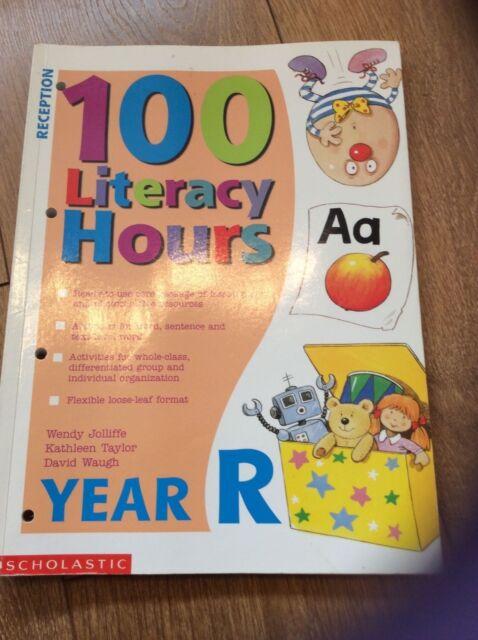 100 Literacy Hours: Reception by David Waugh, Wendy Jolliffe, Kathleen Taylor (L