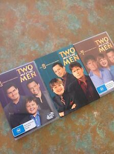 Season 4, 6 & 7 of Two and a Half Men on DVD Cardiff Heights Lake Macquarie Area Preview