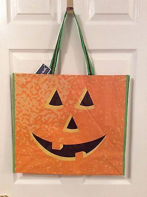 NEW Halloween Pumpkin Reusable Shopping Bag Marshalls Travel Tote](Halloween Shopping)