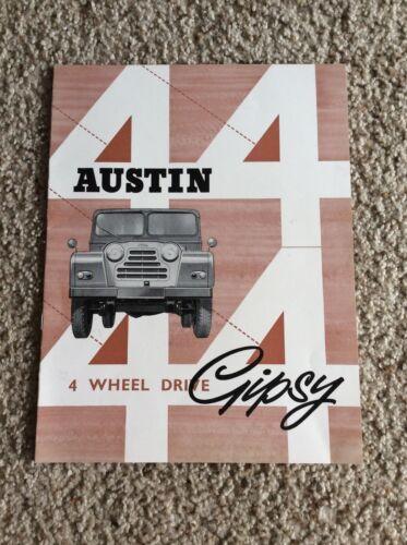 1960s Austin  Gipsy 4-wheel drive original factory produced sales catalogue.