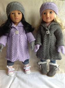 Dolls Fashion clothes knitting  pattern. 18
