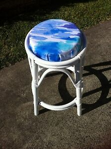 Vintage Cane Stool Wadalba Wyong Area Preview