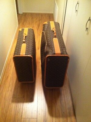 Two new Louis Vuitton Rolling Case, luggage, suitcase - Brown - Louis Vuitton Canvas Luggage Set