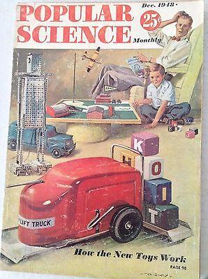 Popular Science Magazine How New toys Work December 1948 082817nonrh2