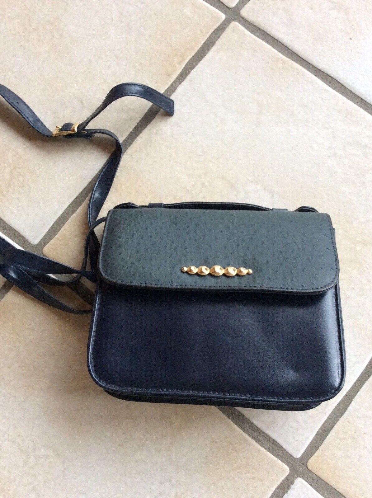 dunkelblaue Handtasche  **klein**wie neu**