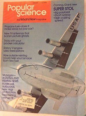 Popular Science Magazine Propane Fuel Tv Antennas February 1976 081617Nonrh2